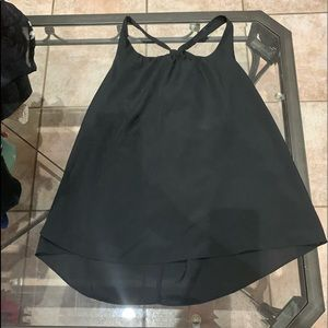 Chiffon cami with detail on back